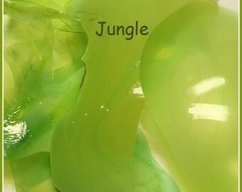 Jungle Lampwork Shards coe 104 - 0.2 oz