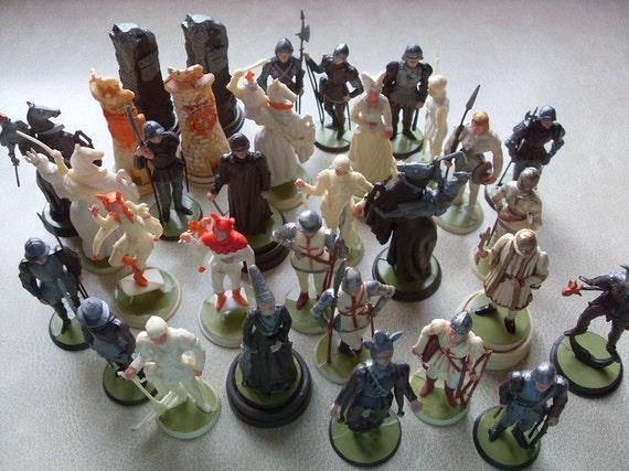 Chess Set - Vintage Bret Hist