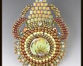 Indian Summer Beaded, Beadwoven, Beadwork Necklace