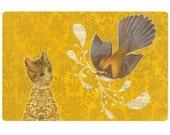 Singer's Souvenir- print