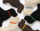 Lab Mix Beanbags - Six Pack of Mixed Labs with Tote