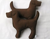 Chocolate Lab Dog Toy for Dogs