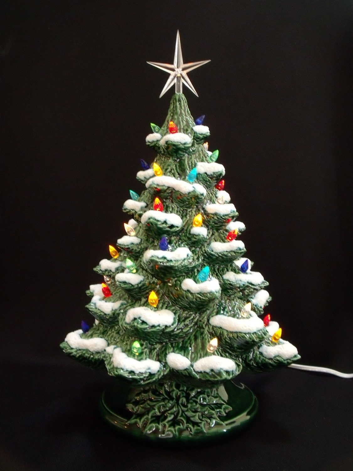Winter Wonderland Ceramic Christmas Tree 16 By Darkhorsestore