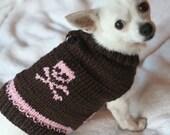 Doggie sweater (Pretty Punk - Brown\/Pink)