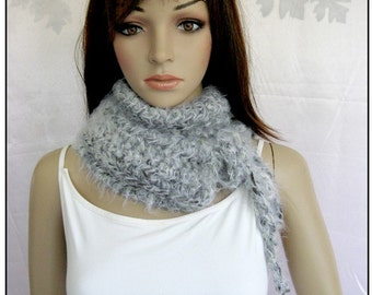 Super Soft Neckwarmer in Shades of Gray