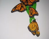 Monarch Butterflies Limited Edition Serigraph Print