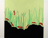 Grass Ants painting