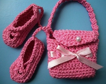 Mini Ballet Bag and Ballet Slippers