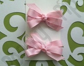 Custom Listing For Stephanie--6 sets of Tiny Bows by Peachy & Pip