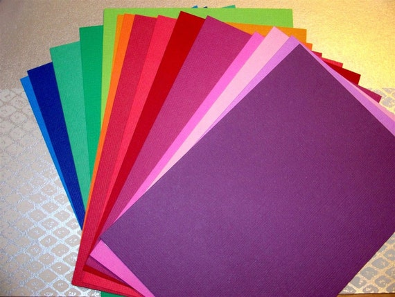 american crafts cardstock   heavy weight  bright colors   15 sheets
