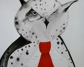 Professor Owl Fine Art Print from Original