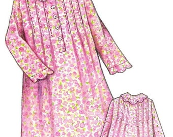 Prairie Rose Night Gown Ladies Size Pattern