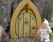 9 inch window top gnome door