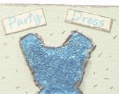 Party Dress Original ATC ACEO