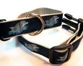 Flipper Ribbon Dog Collar