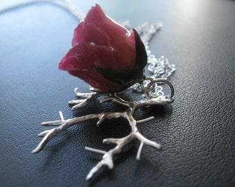 Bare Branch and Rose Bud - Unique gifts for Her