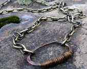 Primitive, Mens necklace