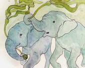 Water Elephants - 8x10 Archival Print