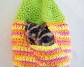 Sugar Glider 'Hive' Nest - Crochet Pattern