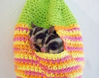 Sugar Glider 'Hive' Nest - Crochet Pattern (PDF)