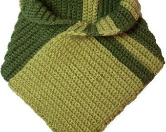 Right Angle Reversible Scarf - Crochet Pattern (PDF)