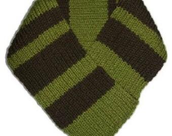 Right Angle Knit Scarf - Knitting Pattern (PDF)