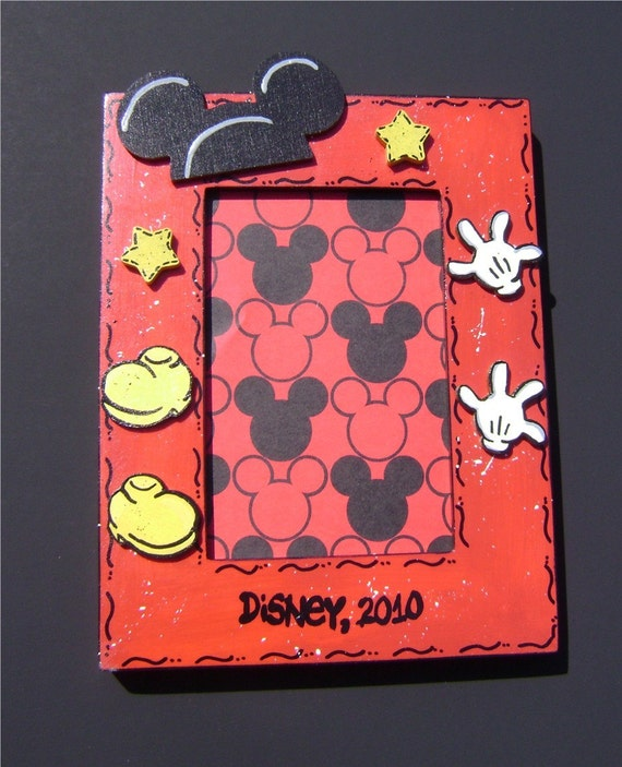 Mickey Mouse Birthday Disney Picture Frame 5x7