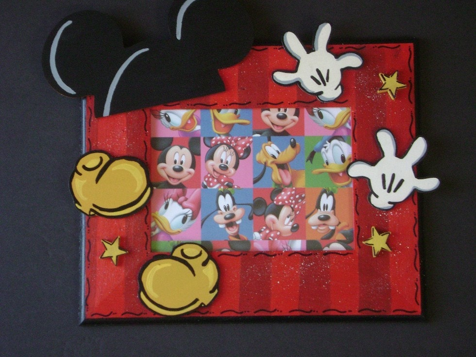 Mickey Mouse Birthday Disney Picture Frame By
