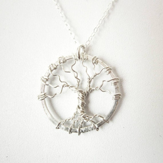 Everyday Tree of Life Pendant Necklace - Sterling Silver