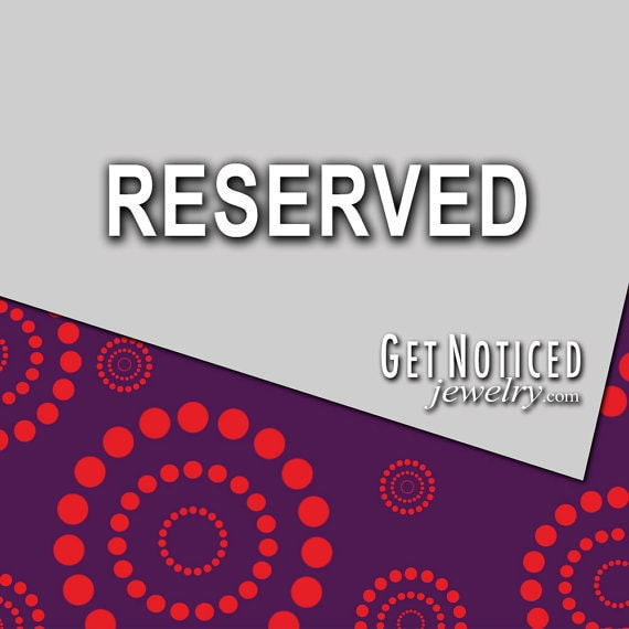 RESERVED for Zac- Custom Necklaces