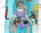 When I grow up I want to be the old crazy cat lady