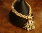 Swarovski Embellished Russian Spiral Bracelet