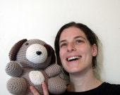 Amigurumi PATTERN: Crochet Dog -pdf-