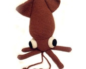 Squid Crochet Pattern: Instant Download -PDF-