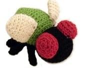 Crochet PATTERN: Amigurumi Fly -pdf-