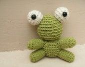 Amigurumi PATTERN: Tiny Crochet Frog -pdf-
