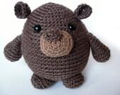 Groundhog Amigurumi Crochet PATTERN -pdf-