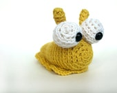 Amigurumi Crochet PATTERN: Slug -pdf-
