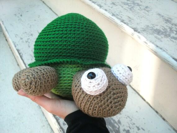 Amigurumi Turtle Crochet Patterns : Items similar to amigurumi pattern crochet turtle pdf
