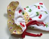 Reusable Snack Bag Cherries Eco Friendly