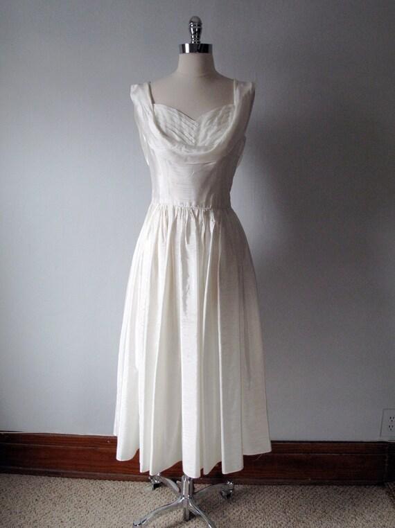 1940s Evening Dress - Wedding Dress