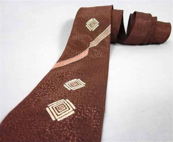 Vintage 1940s Necktie