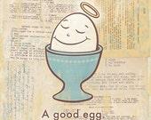 A Good Egg-Print small