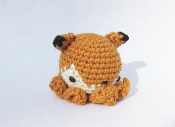 Foxtopus - Mini Amigurumi Fox/Octopus Mutant