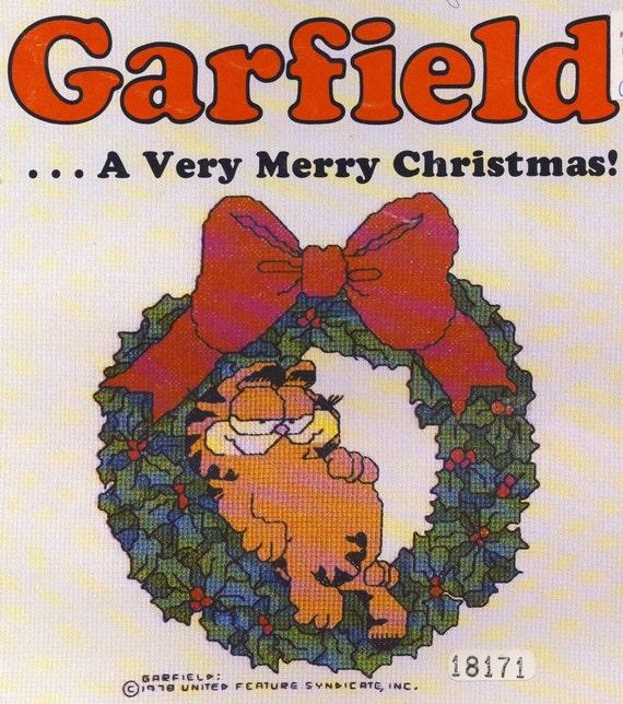 14 Garfield Christmas Counted Cross Stitch designs Plus 10 Angel Dumplin Designs