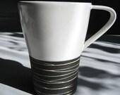 Tea and Cafe au lait cup