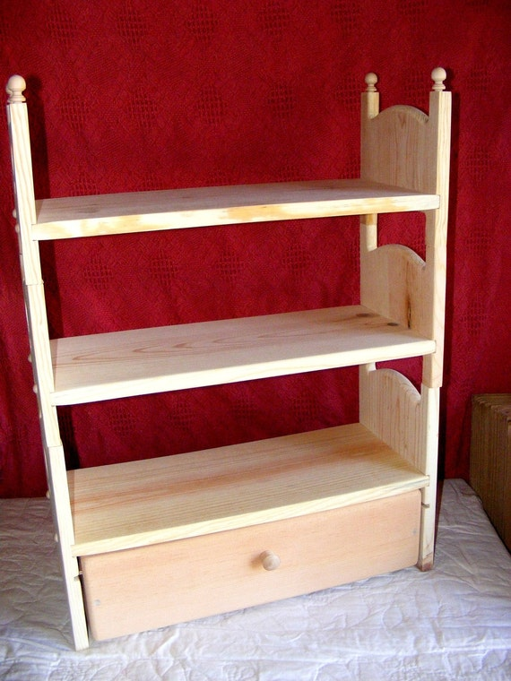Stackable Triple Doll Bunk Bed Trundle Drawer American Girl