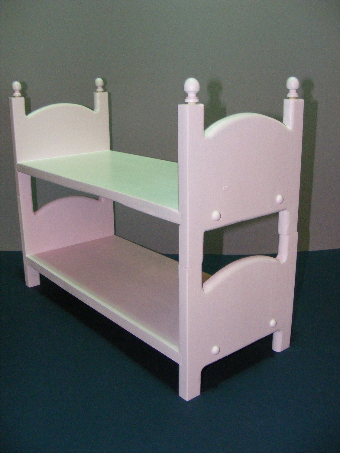 Stackable Pink American Girl Doll Bunk Bed 2 Beds Free