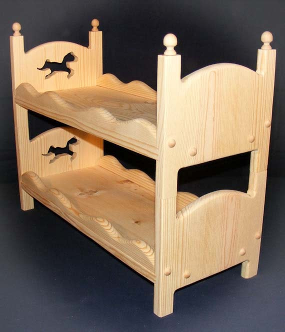 American Girl Doll Stackable Bunk Bed With Horse 18 Doll