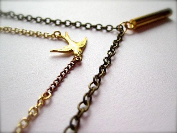 Bird Call Necklace - LAST COPY